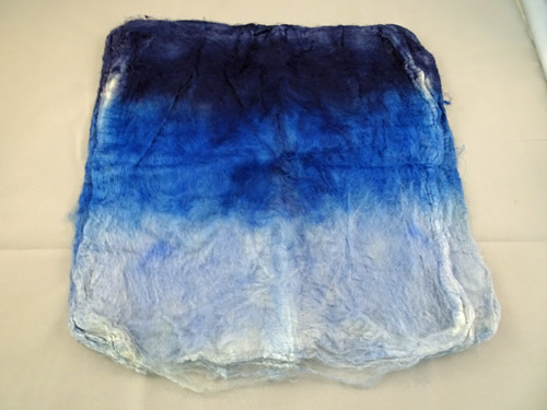 Mulberry Silk Hankies - Sky-