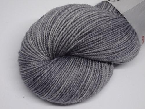 Smokey Grey SW Merino Sock Yarn-