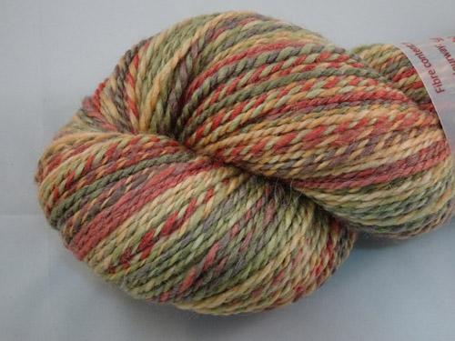 Soft Autumn Handspun Yarn-