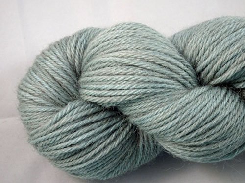 Soft Grey Green 8ply Alpaca Yarn-