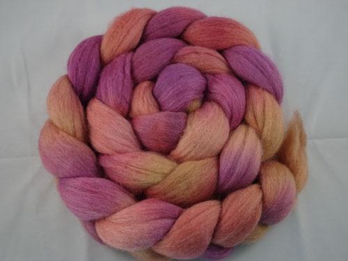 Softest Autumn Blush roving-
