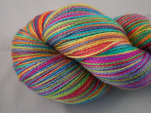 Stained Glass Merino/Silk Laceweight Yarn-