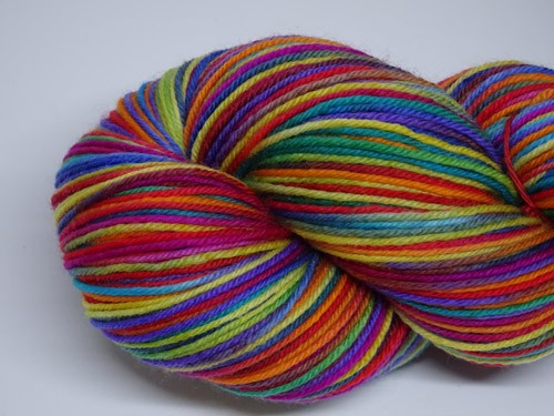 Stained Glass SW Fine Merino/Nylon Sock Yarn-