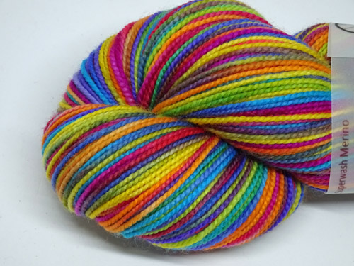 Stained Glass SW Merino Sock Yarn-