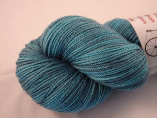 Stormy Blue SW Merino/Nylon Sock Yarn-