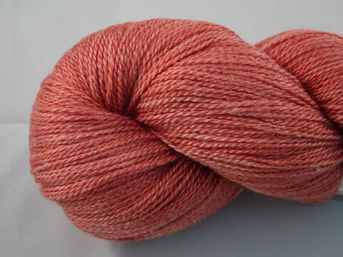 Subtle Ochre Merino/Silk Laceweight Yarn-