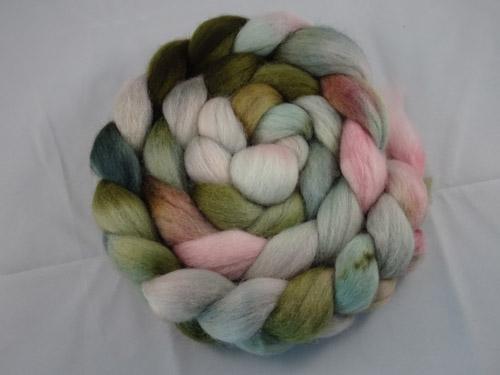 Succulent Cloverleaf Corriedale tops-