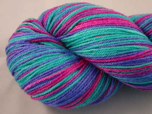 Swish (L) Superwash Merino/Bamboo/Silk Sock Yarn-