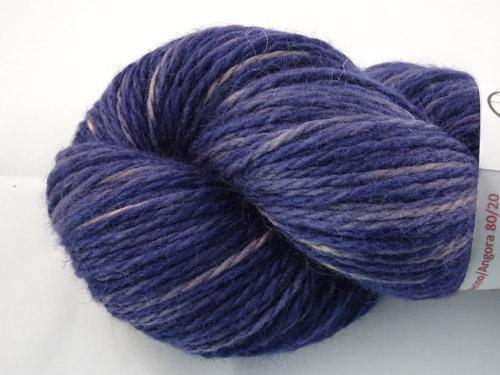 The Purple Navy Merino/Angora 80/20 Light 10ply-