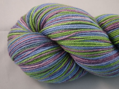 Vineyard (L) Superwash Merino/Bamboo/Silk Sock Yarn-
