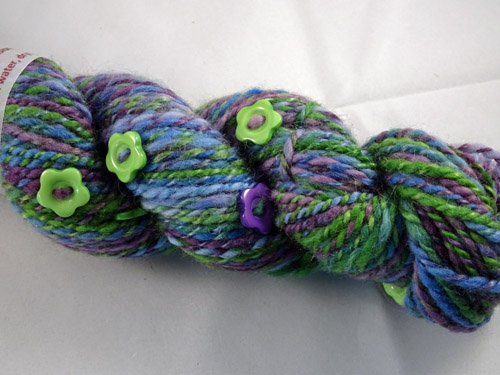 Vineyard Button Handspun Yarn-
