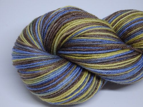 Wesley Superwash Merino/Bamboo/Silk Sock Yarn-