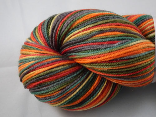 Wishing For Autumn SW Merino/Nylon Sock Yarn-